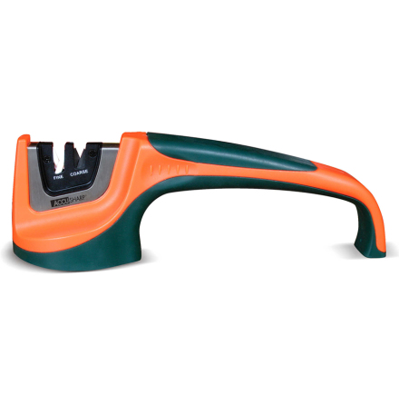 AccuSharp Pull Through Knife Sharpener Orange