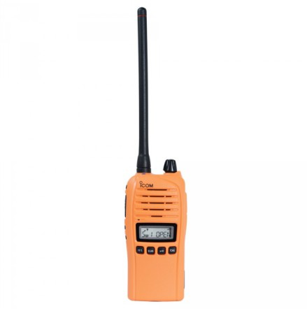 Icom Prohunt Radiopaket Orange