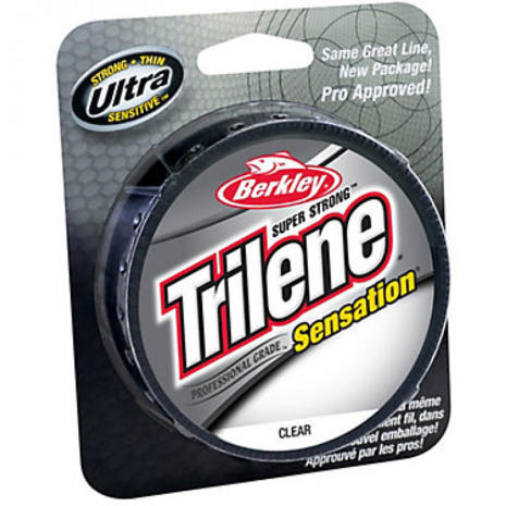 Berkley Trilene Sensation 0,32 mm 300m CLEAR Nylonlina