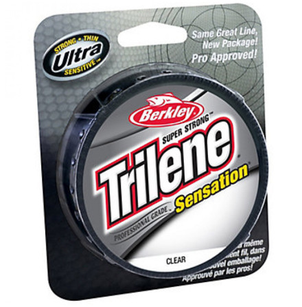 Berkley Trilene Sensation 0,35 mm 300m CLEAR Nylonlina