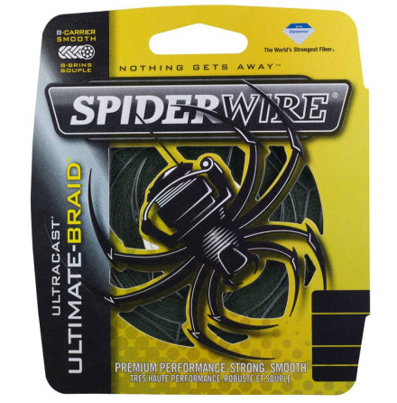 Spiderwire Ultimate Braid 0,14mm Grön 110m