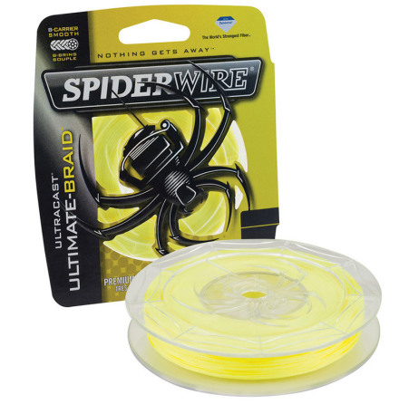 Spiderwire Ultimate Braid 0,14mm Gul 110m