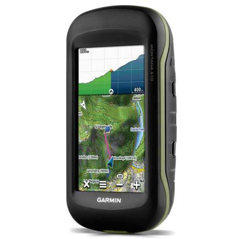 Garmin Montana 610 GPS Worldwide