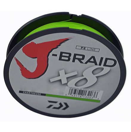 Daiwa J-Braid x8 0.28mm 150M 26.3kg Chartruese