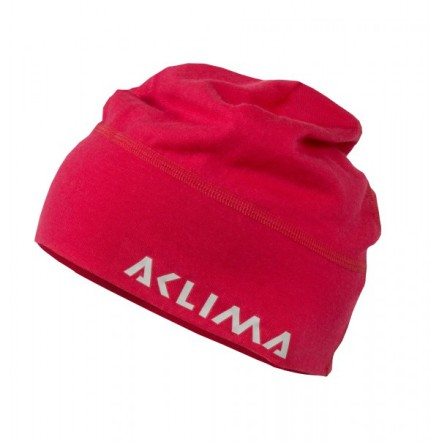 Aclima Lightwool Beanie Rosa Raspberry