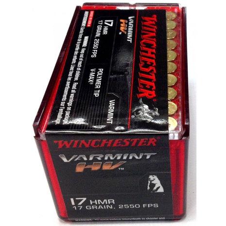 Winchester 17 HMR Supreme V-Max 17grain